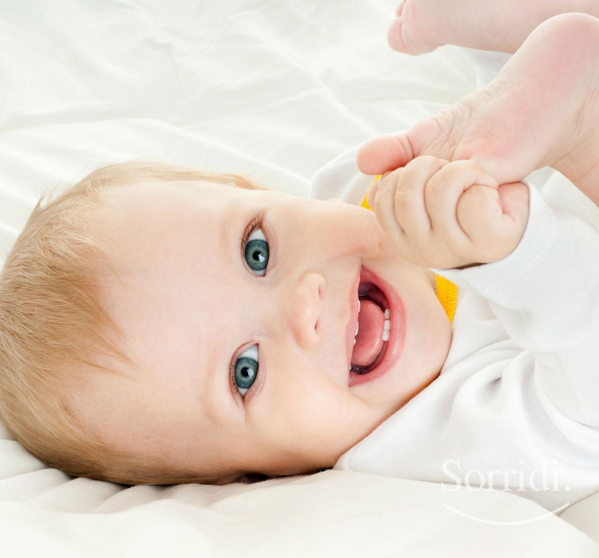 Sorridi-ch-magazine-dentizione-del-neonato-in-ritardo
